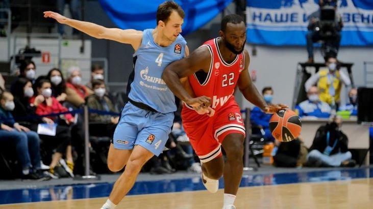 «Зенит» — «Бавария» баскетбольный прогноз 16 декабря