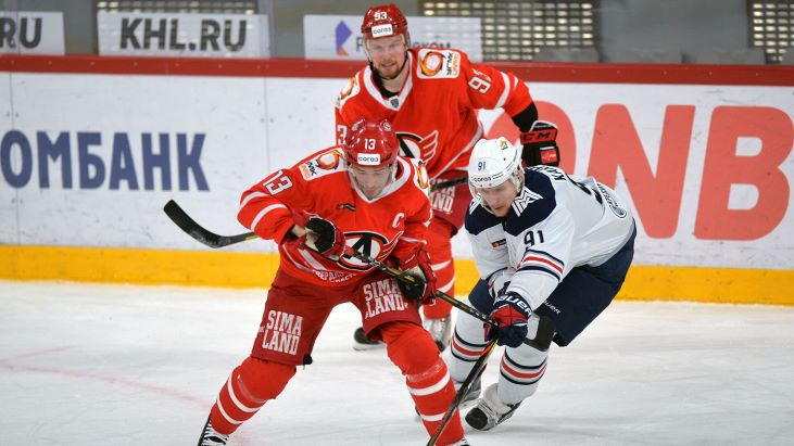 «Металлург» — «Автомобилист» хоккейный прогноз на КХЛ 13 декабря
