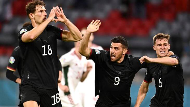 Англия — Германия прогноз на плей-офф ЕВРО-2020 на 29 июня 2021